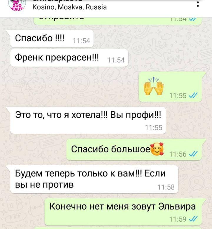 whatsapp image 2019 08 06 at 14.35.221 e1566218336596 - Груминг салон в Москве - район Перово